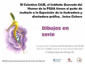Invitación exposición Jesica Cichero